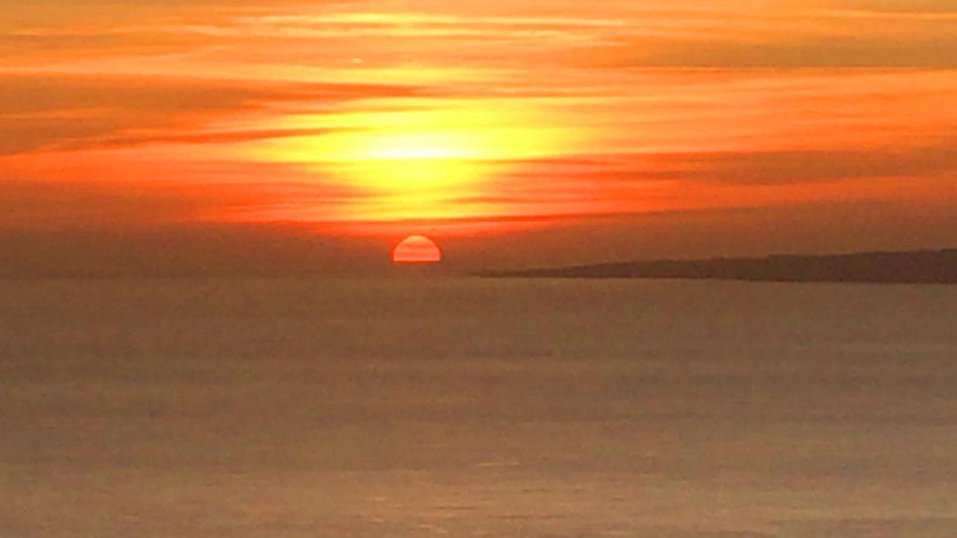 Winter Solstise Sunset