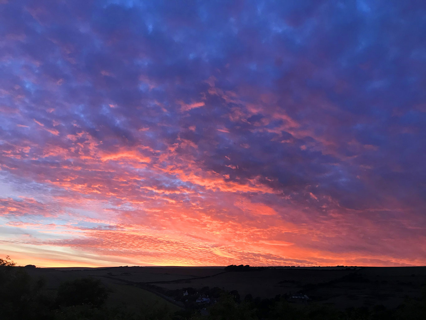 Lulworth Sunset