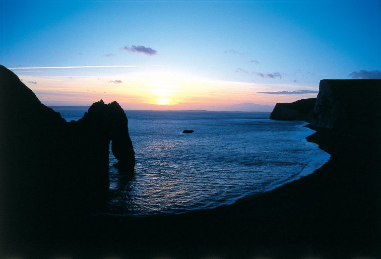 Durdle Door sunset