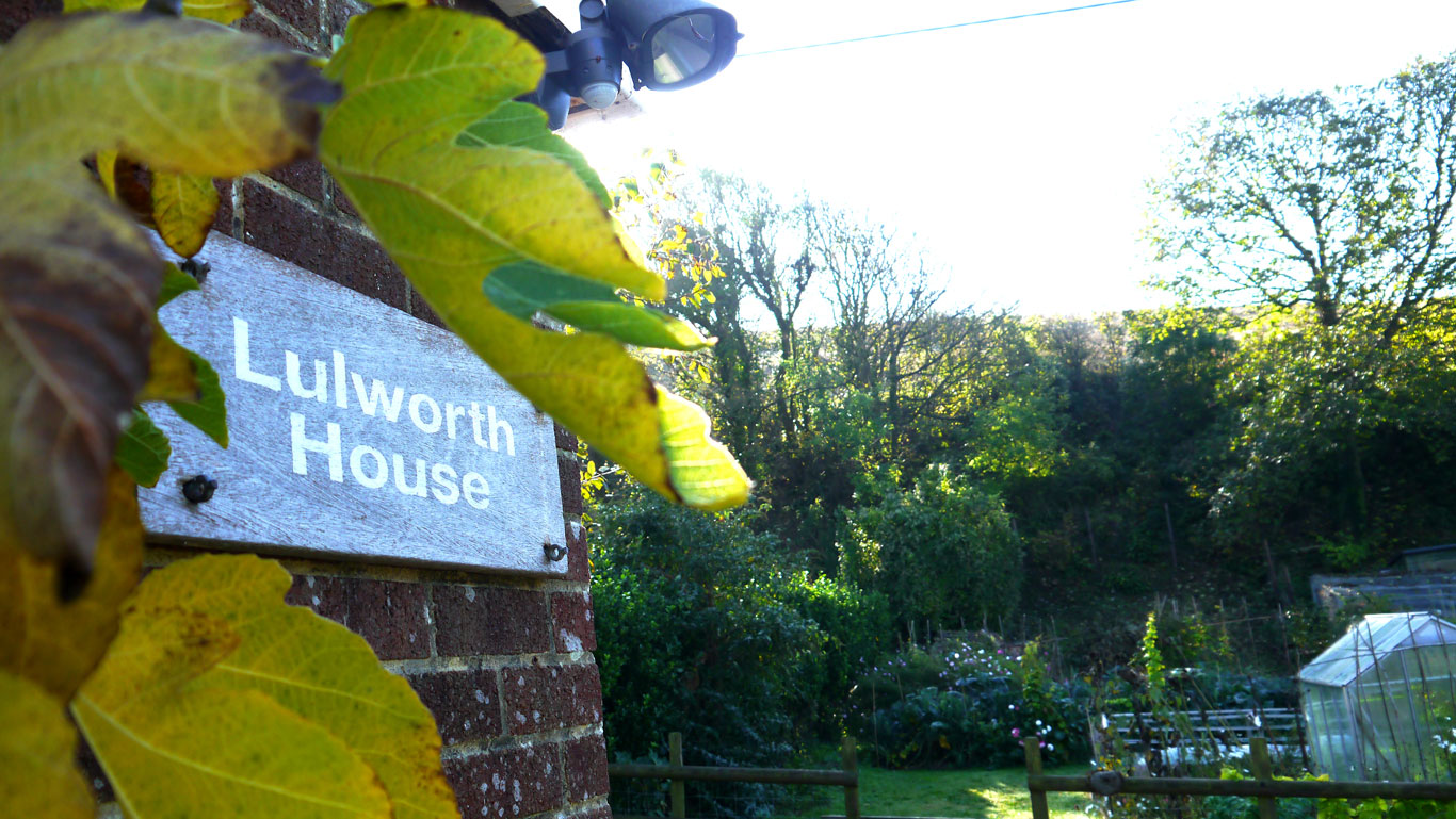 LulworthHouse Sign