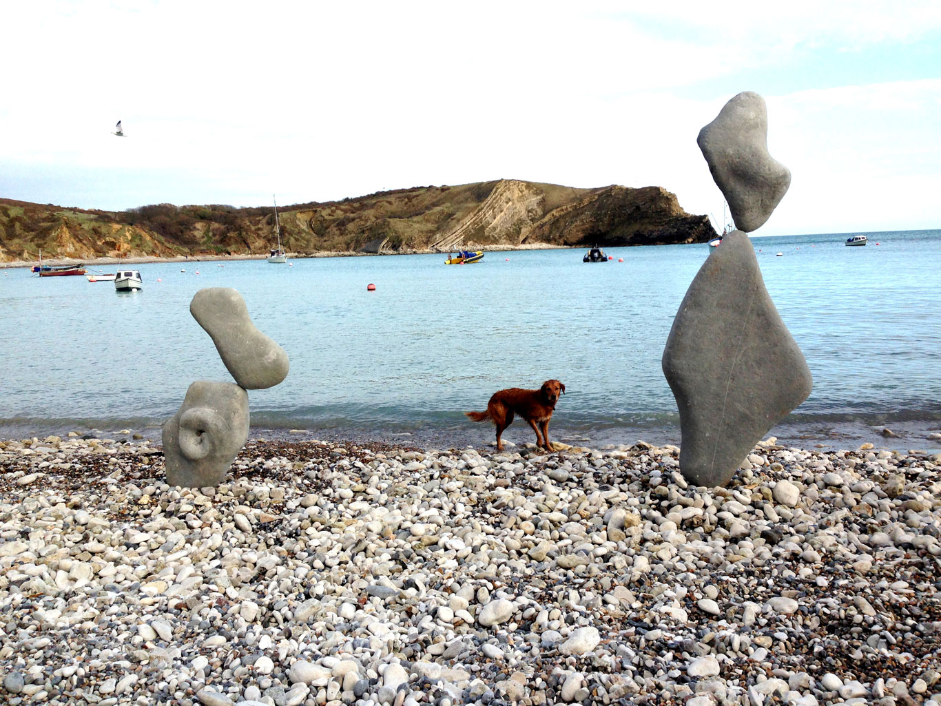 Lulworth Cove Sculptures