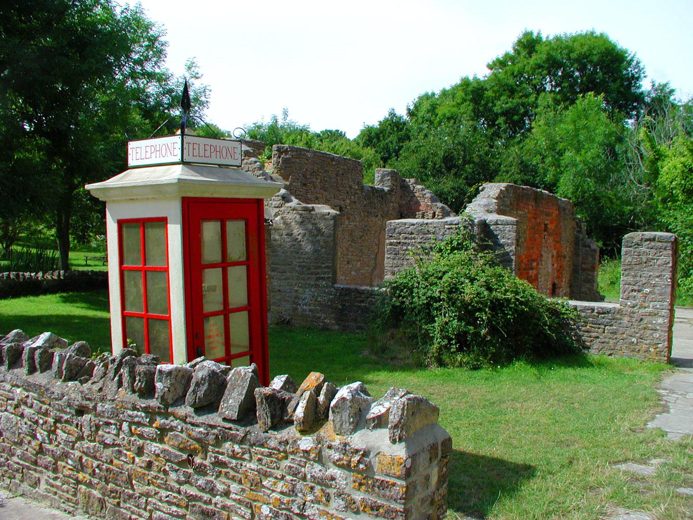 Tyneham Telephone Box