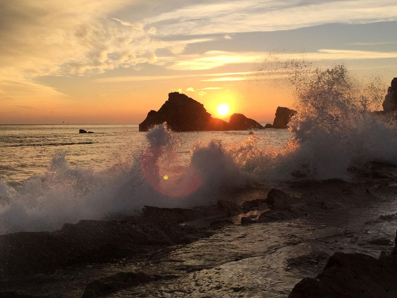 Mupe Bay sunset