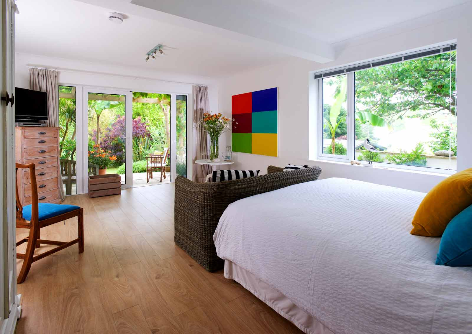 Lulworth House B&B Garden Suite