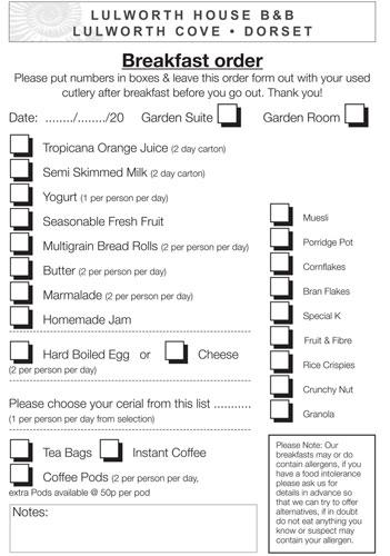 Breakfast-order-form